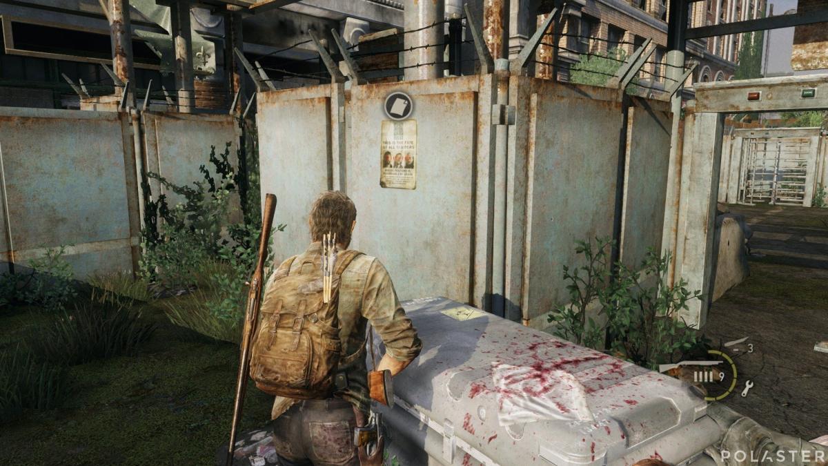 The Last of Us Artefacto Octavilla de los traidores